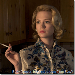 January Jones on Mad Men
