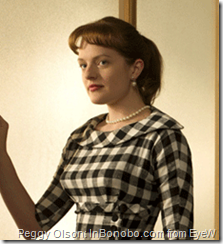 Elisabeth Moss on Mad Men