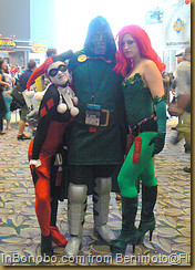 Harley Quinn, Doom, Poison Ivy on Flickr