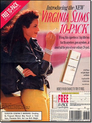 Virgina Slims NEW