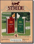 Welcom to Stride, where taste runs rich