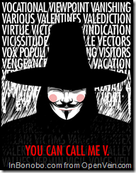 You Can Call Me V for Vendetta