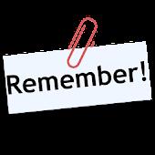 Memo to remember