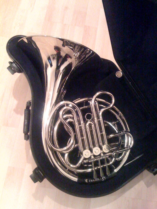 used dj music equipment for sale conn 8d french horn silver finish. Black Bedroom Furniture Sets. Home Design Ideas