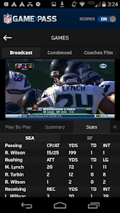 NFL Game Pass screenshot 0