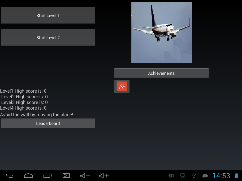Fly - screenshot
