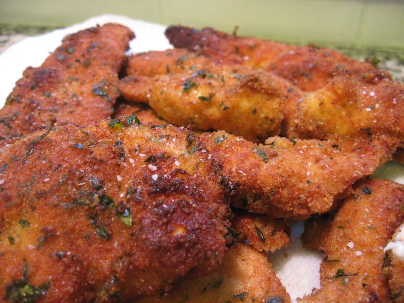 Chicken Cutlets: Chicken Milanese (Milanese di Pollo)