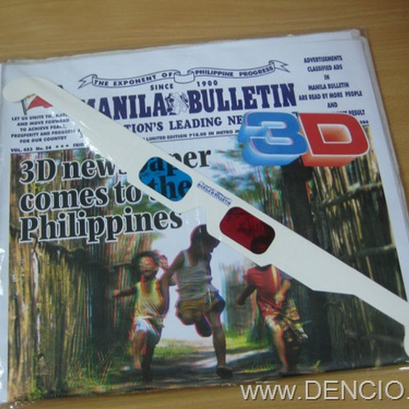 Manila Bulletin Online! - DENCIO COM