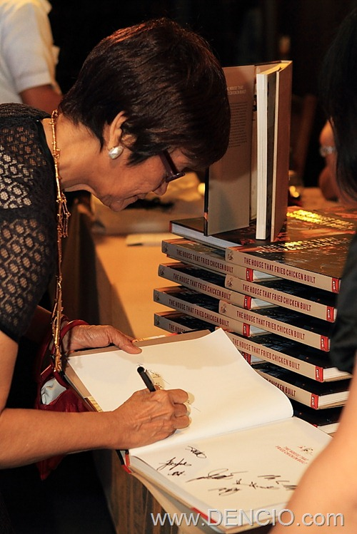 Co-Author Sonia Ner Signs Books During the Launch
