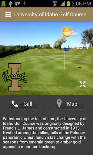 University of Idaho Golf