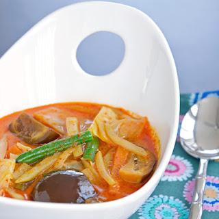 Vegetables in Coconut Milk (Sayur Lemak).