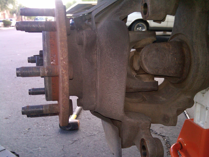 Greasing front wheel bearings - Dodge Cummins Diesel Forum