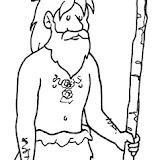 Dibujos De La Prehistoria Para Colorear