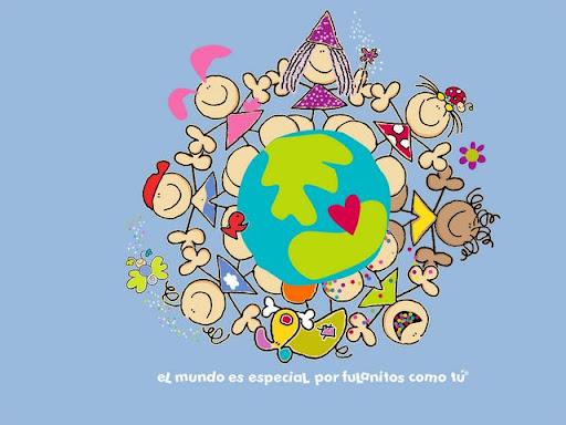 Colorear NiÑos Del Mundo: DIBUJOS NIÑOS DEL MUNDO