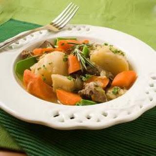 Irish Stew with Parsnips