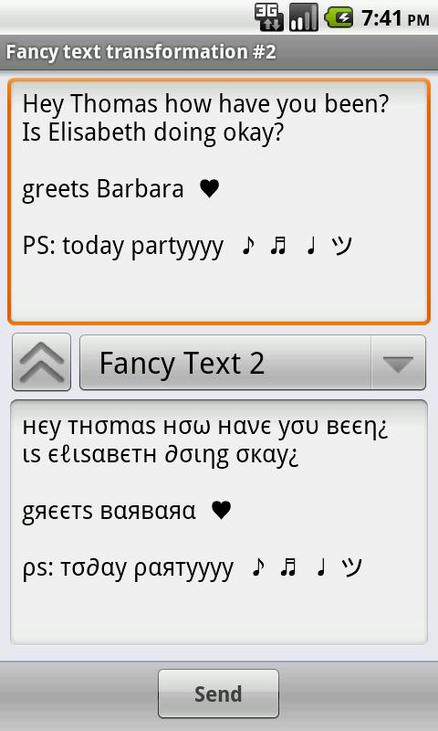 Funny Text Creator - screenshot