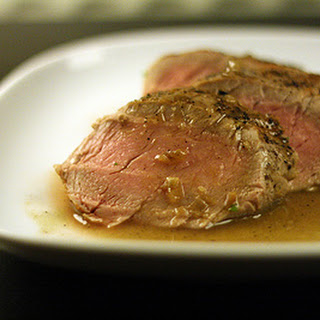 Pork Tenderloin with Ginger Cider Sauce Recipe
