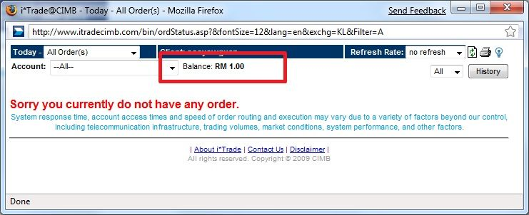 Online trading with i*Trade@CIMB