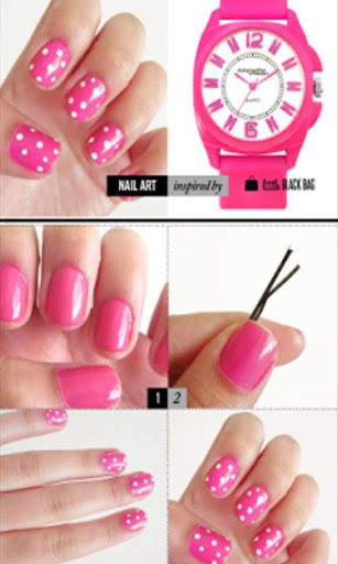 Nails Art Designs Step by Step