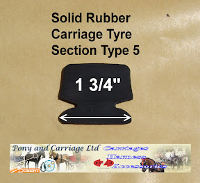 Horse Carriage Rubber Tyre Type 5