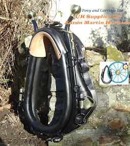 Adjustable Full Field Working Collar Steel Hames Brass Knobs and Hame Hooks