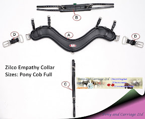 Zilco Carriage Driving Harness Empathy Complete Breast Collar Set