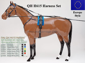 Zilco Racing Trotting Horse Harness QH H615