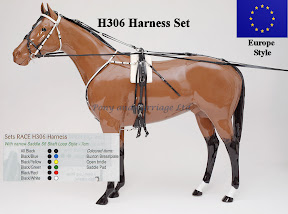 Zilco Racing Trotting Horse Harness  H306