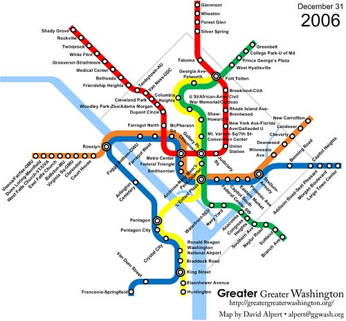Thinking On The Margin The Evolution Of The Dc Metro