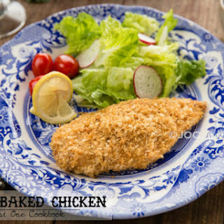 Crispy Baked Chicken (Chicken Katsu)