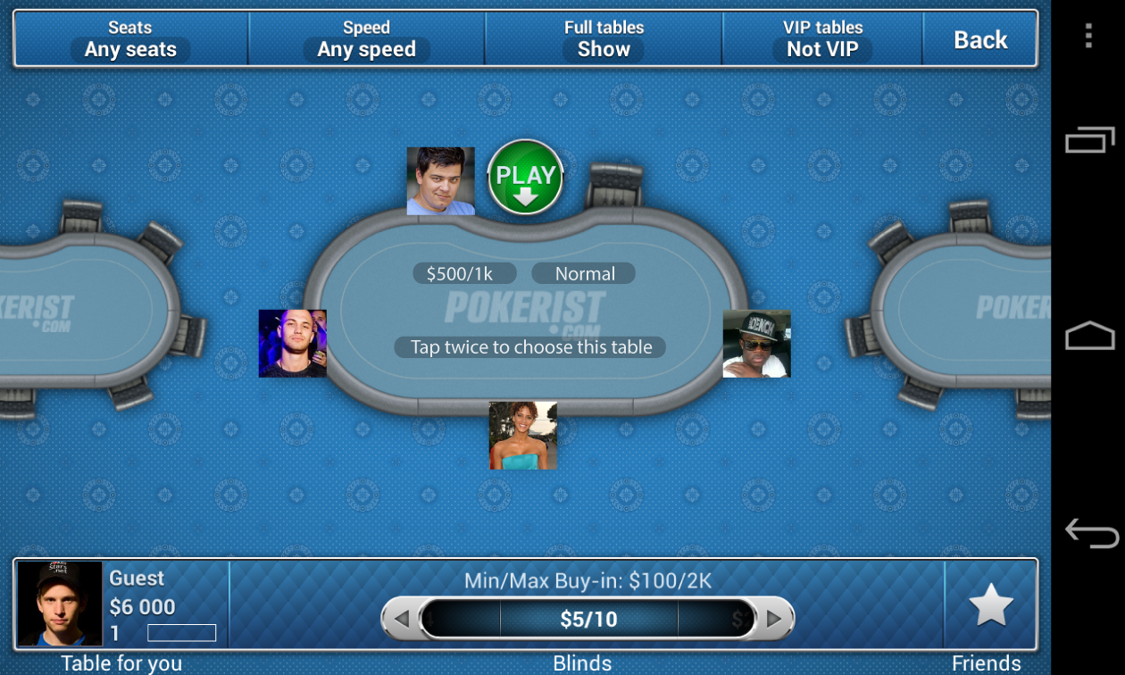 Texas Poker E- screenshot