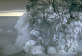 Ash cloud of the 1980 Mt St Helens eruption