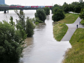 Flood on the Danube
