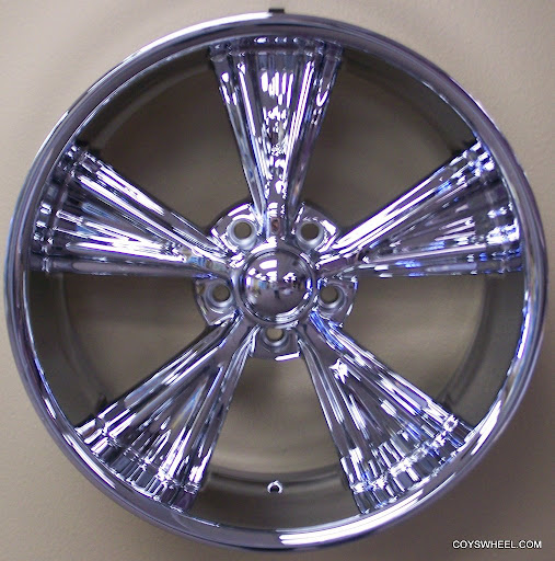 "18"" Coys C56 Chrome Wheels Impala 1959-70 Intro Style"
