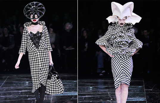sustainable style, alexander mcqueen, mcqueen fall 09, sustainable style, mainstream vs eco fashion, paris fashion week, heirloom design, mcqueen trash fashion, couture fashion trash