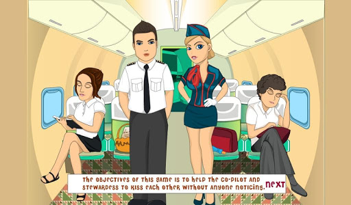 【免費休閒App】Kiss Airplane Air Hostess-APP點子