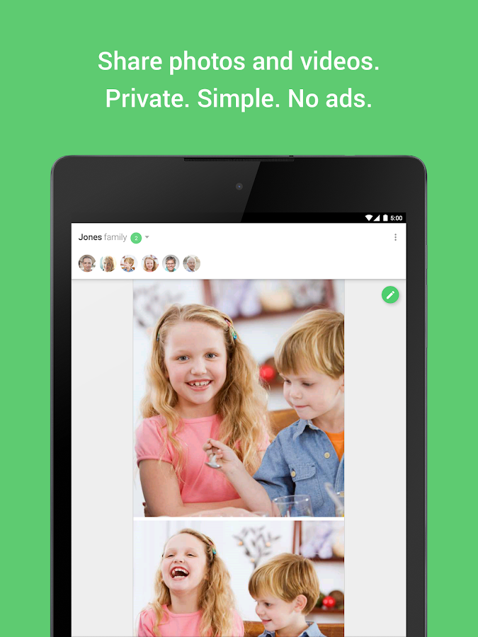 Togethera Private Sharing - screenshot