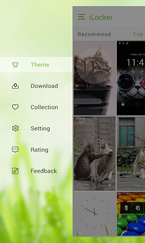 Lova Locker - wallpaper locker - screenshot