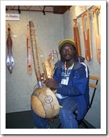 KPFA-African harp player in my booth