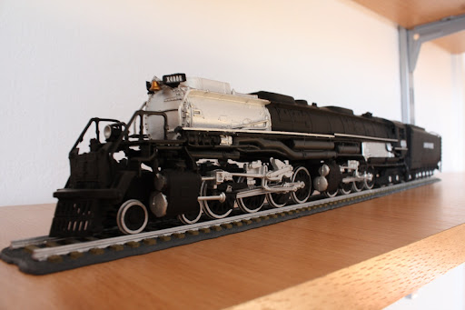 BDA's Train Blog: Revell Big Boy Steam Locomotive - The