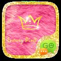GO SMS PRO LUXURY PINK THEME icon