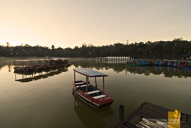 The Boating Lagoon at Baguio's Burnham Park