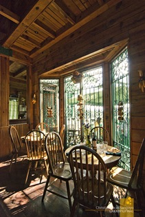 Cozy Dining at the Bay Window Area