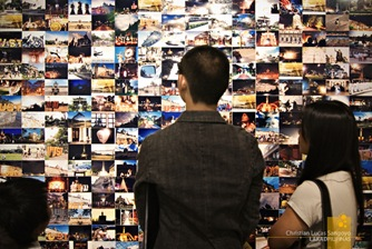 Photowall of submitted entries
