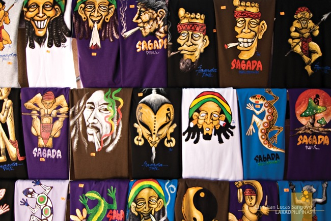 Hand-Painted Sagada T-Shirts