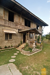 The Facade Facing the Garden at the Zoleta Ancestral House in Abra de Ilog