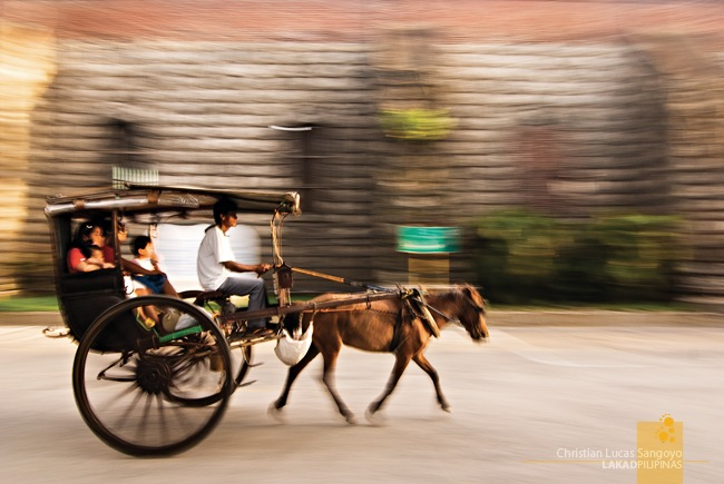 Carriages at Ilocos Sur's Vigan City