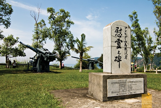 A Japanese Marker Set Against the Guns of Corregidor
