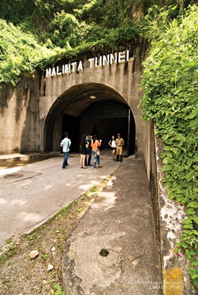 Entrance to Corregidor's Malinta Tunnel