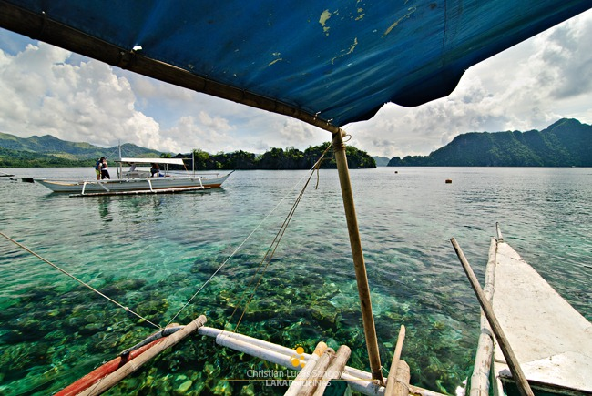 The Clear Waters of Coron's Siete Pecados